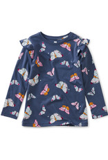 Tea Collection Ruffle Top Butterfly Flurry
