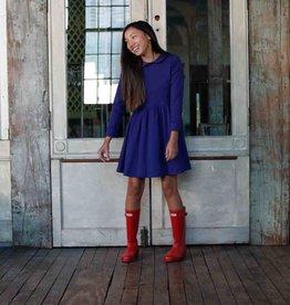 Classic Prep Claudette Dress Blue Ribbon
