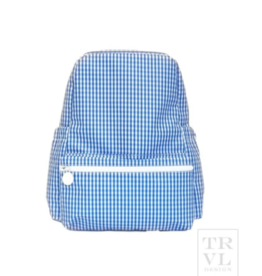TRVL Design Backpacker Gingham Royal