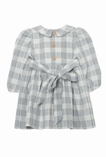 Mabel and Honey Sweet Lullaby Plaid Woven Dress