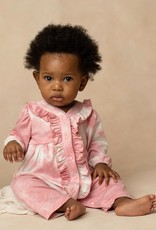 Mabel and Honey Little Lovely Knit Romper Pink