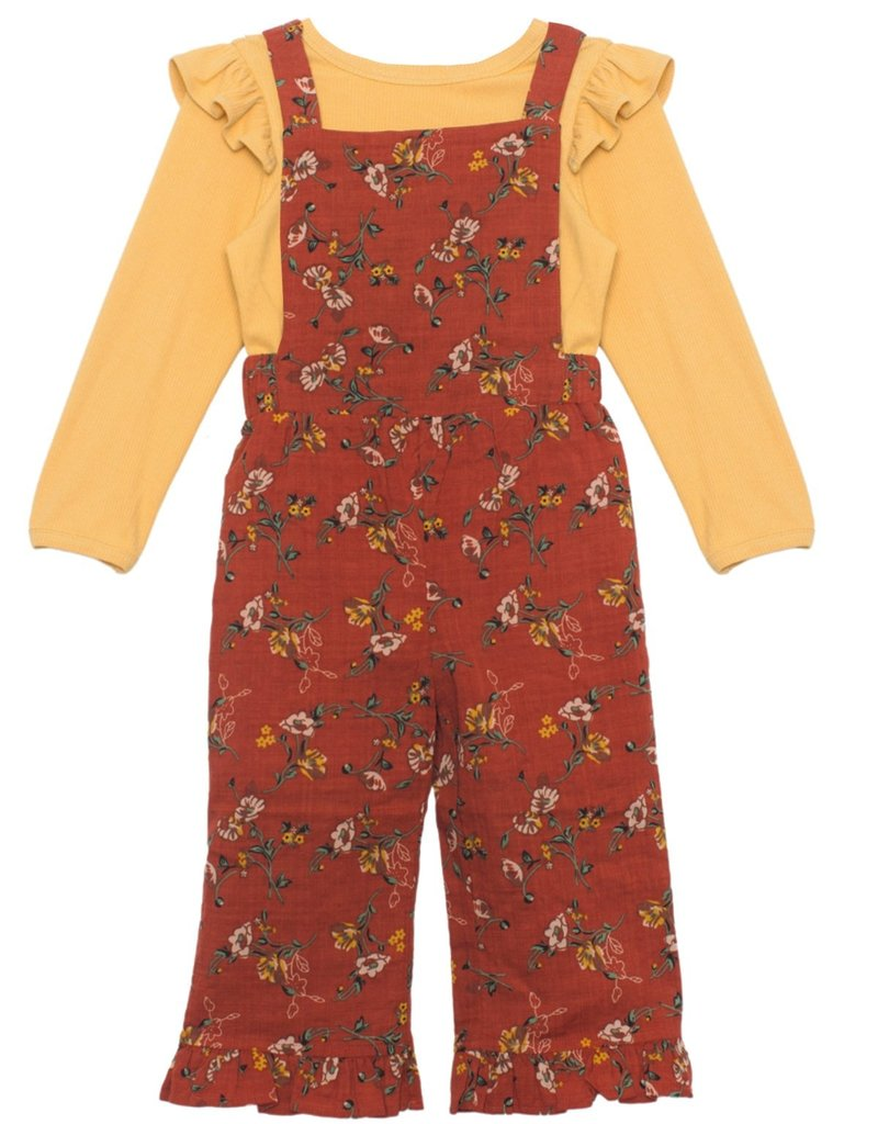 Mabel and Honey Little Lady Woven 2pc Set Yellow