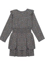 Mabel and Honey Blossom Rayon Dress Blue
