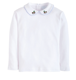 little english Mallard L/S Pinpoint Shirt