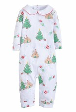 little english Printed Playsuit Gingerbread