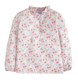 little english Ruffled Popover Midway Floral