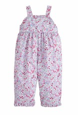 little english Ruffled Overall Royal Garden Floral