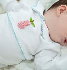 little english Pear Crochet Playsuit