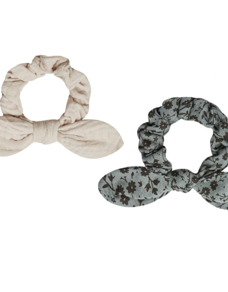 Rylee & Cru Scrunchie Set Indigo Meadow/Stone