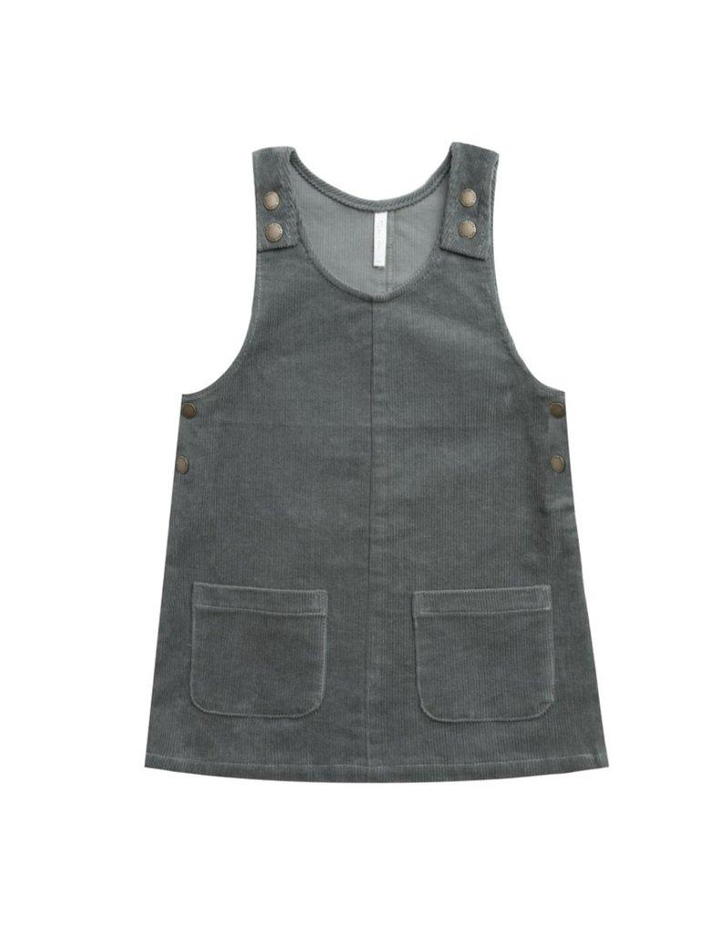 Rylee & Cru Odette Overall Dress indigo