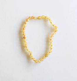 Careha + Co. Amber Teething Necklace  Raw Honey