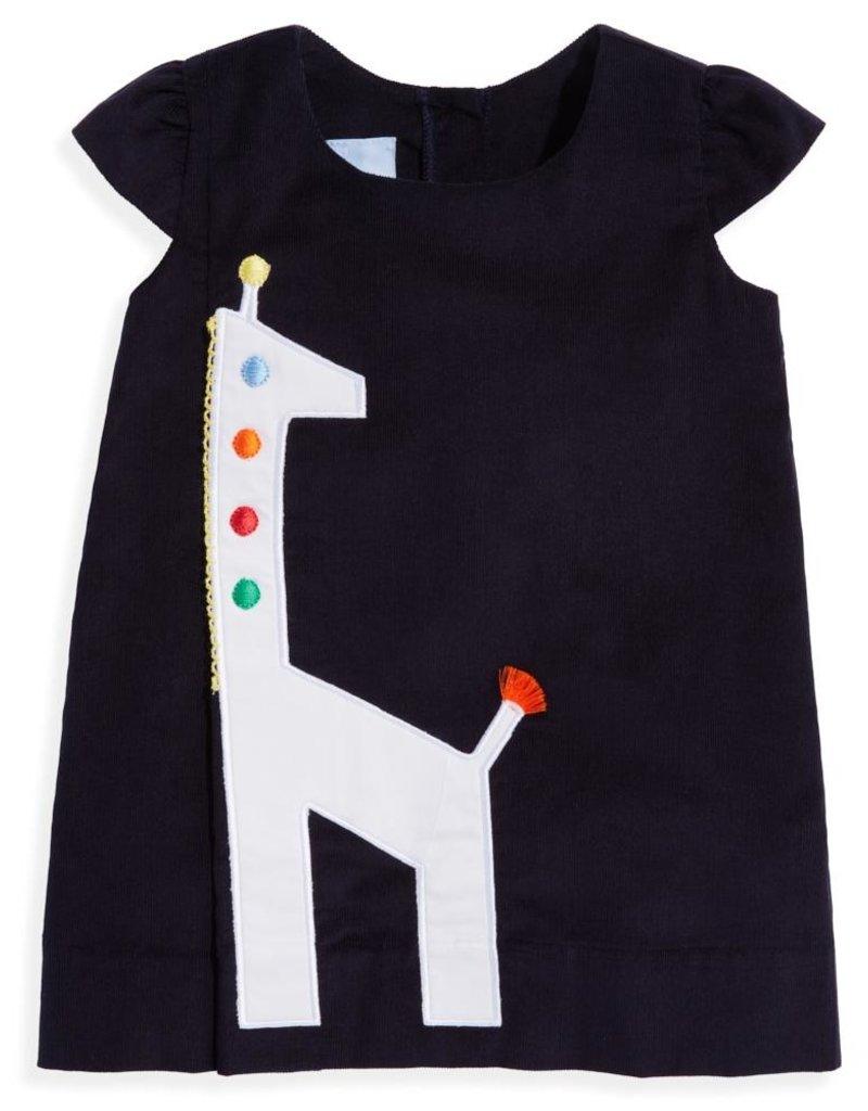 bella bliss Giraffe Dress Navy