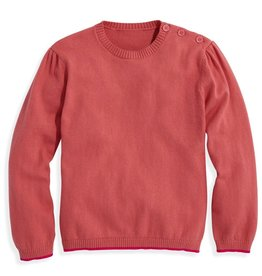 bella bliss Pink Puff Sleeve Pullover