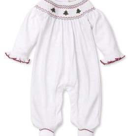 Kissy Kissy White/Red Holiday Medley Footie