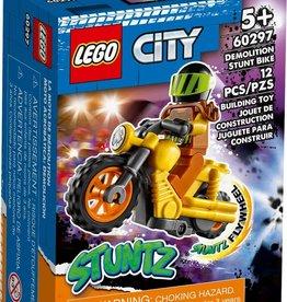 Lego Demolition Stunt Bike 60297