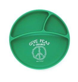 Bella Tunno Wonder Plate Give Peas a Chance