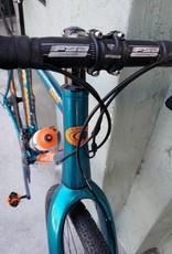 Co-Motion Cycles Klatch 58cm Lite Teal w/Orange w/Lauf Grit CX by Co-Motion MSRP: $5,350.00