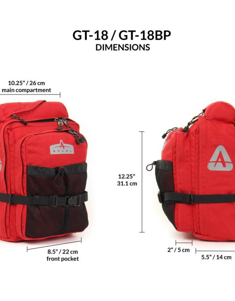 Arkel Arkel GT-18 Front or Rear Touring Pannier (each)