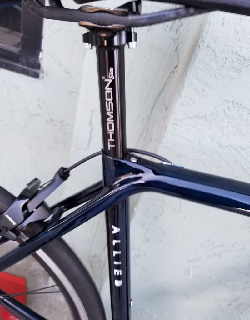 Allied Cycle Works Alfa (rim brakes) 52cm Sapphire (Translucent Blue) by Allied Cycle Works