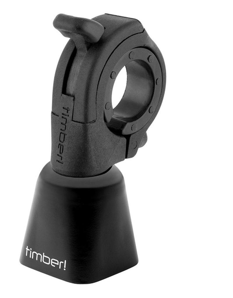TIMBER Timber Mountain Bike Bell Black