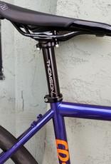 Co-Motion Cycles Co-Motion Klatch 56cm Lake Violet Pearl #41 w/Tangelo Pearl Logos