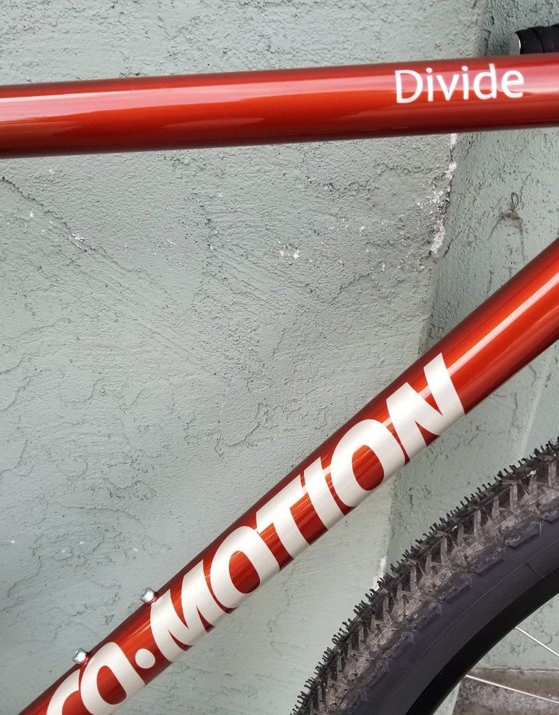 Co-Motion Cycles Co-Motion Divide Rohloff 55cm Bronze #24 w/ Champagne #18 Logo