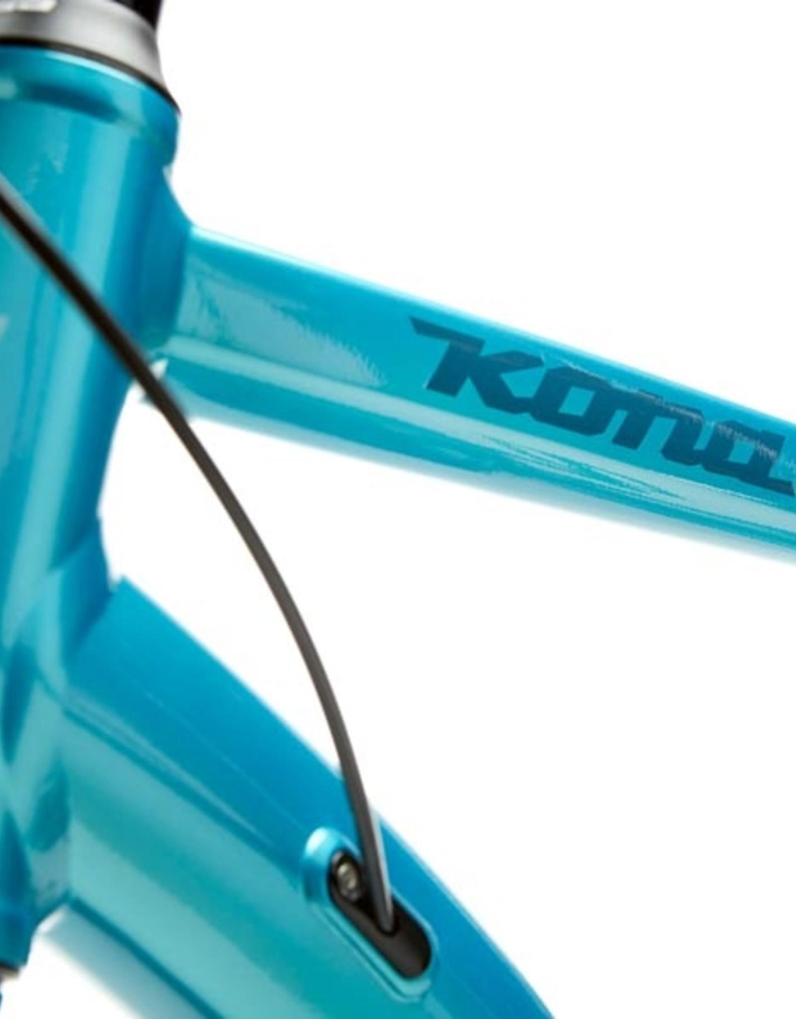 Kona Bicycles Kona Dew-E (Gloss Dark Seafoam)