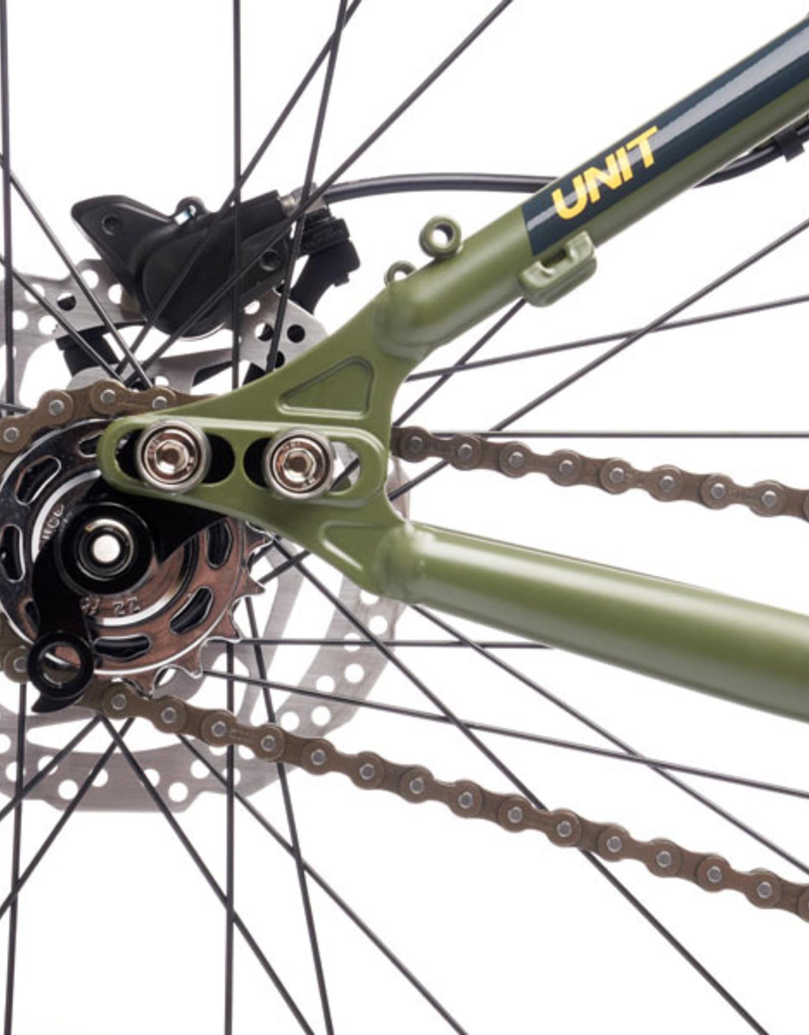 Kona Bicycles Kona Unit (Fatgue Green) 2021