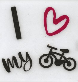 Coaster - I Love My Bicycle