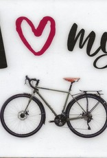 Coaster - I Love My Bicycle