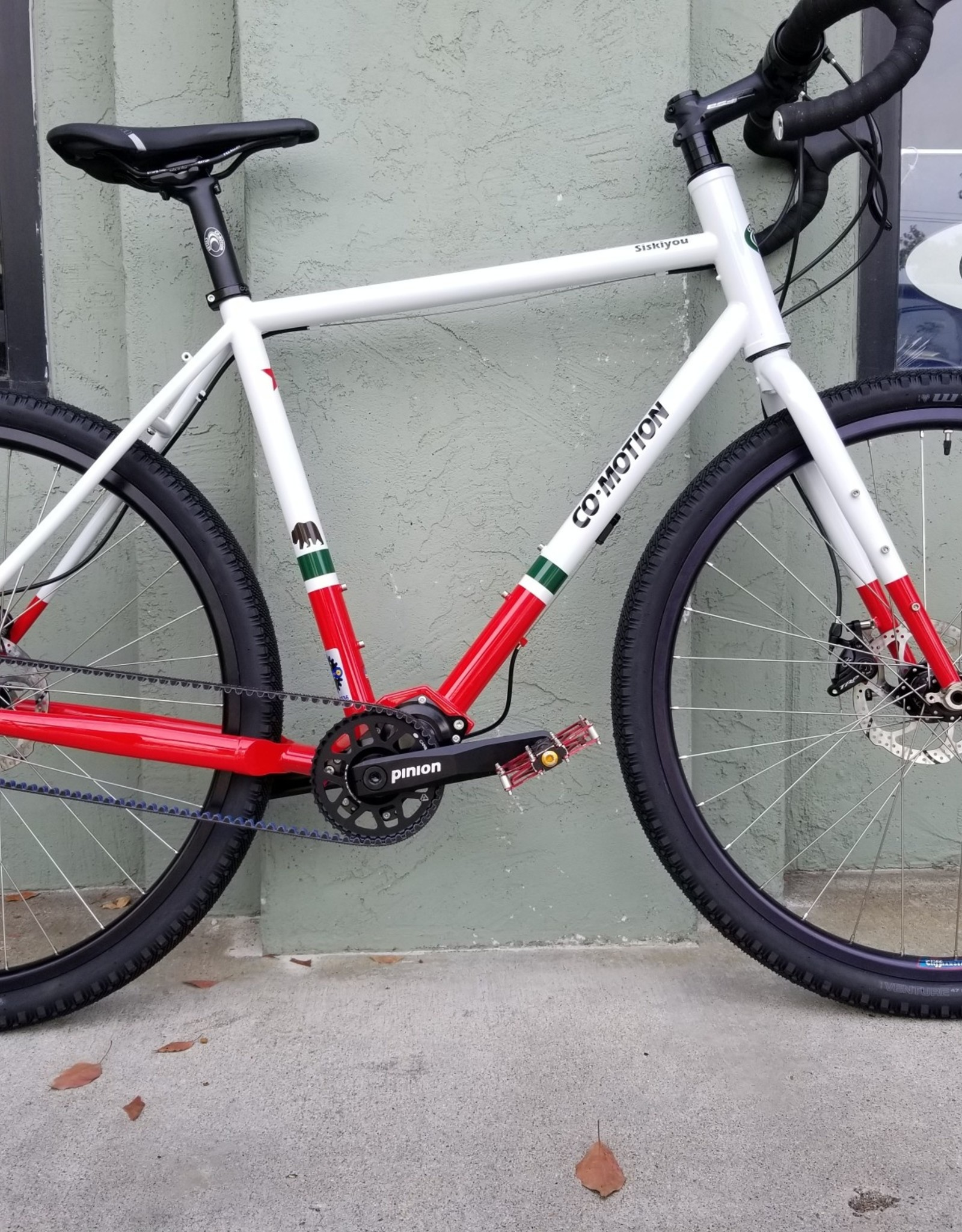Co-Motion Cycles Co-Motion Siskiyou Pinion-18 56cm w/Cali-CyQuest Paint