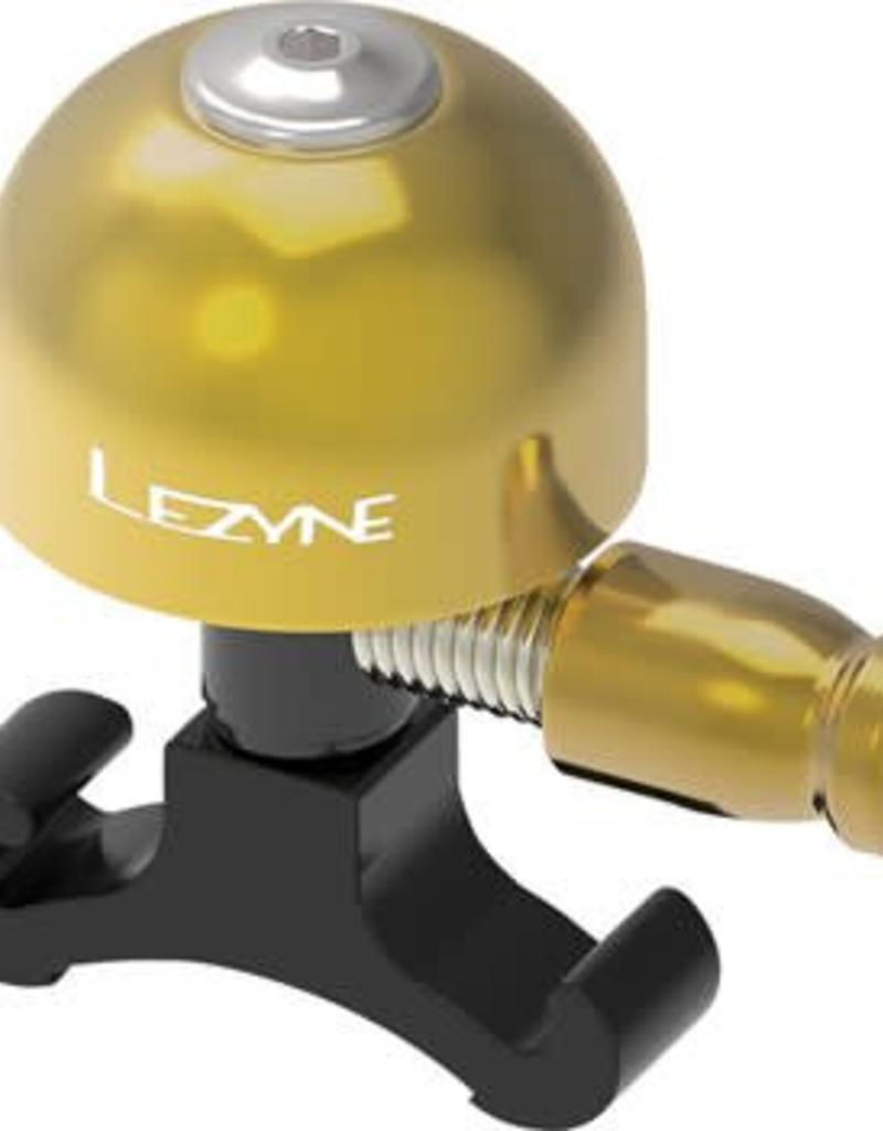Lezyne Lezyne Classic Brass Bell: Small, Black