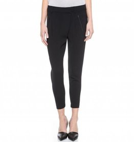 Vince Vince Leather Trim Crossover Pant