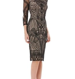 JS Collections JS Collections Soutache Mesh Dress