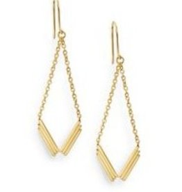 Gorjana Gorjana Cara Drop Earrings