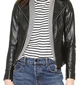 Doma Venice Hooded Leather Jacket