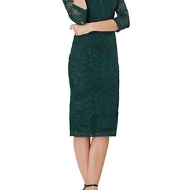 JS Collections JS Collections Jewel Nk Soutache Midi Dress
