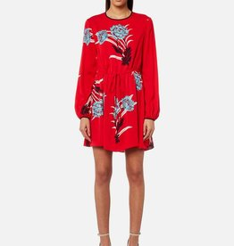 DVF DVF Crewneck Mini Dress
