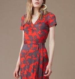DVF S/S New Julian Banded Wrap Dress