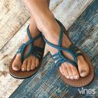 Vines Empress Flat Sandal