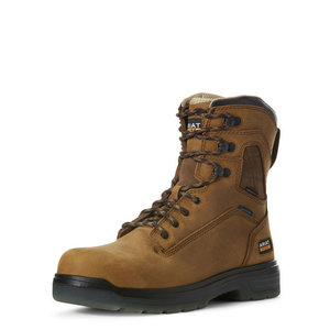 """Ariat Turbo 8"""" H2O Carbon Toe Brown"""