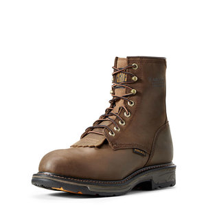 """Ariat 8"""" Workhog H2O Composite Toe Lace Up"""