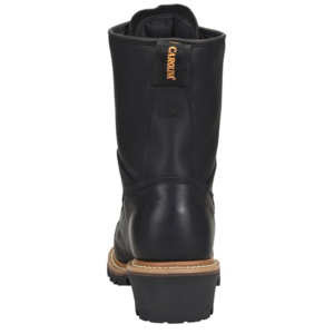 "Carolina Spruce 8"" Waterproof Logger Black"
