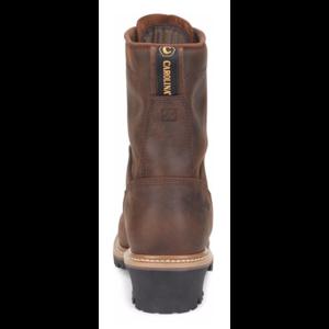 "Carolina Spruce 8"" Waterproof Logger Brown"