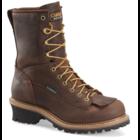 "Carolina CA9824 - 8"" Steel Toe WP Logger Brown"