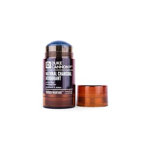 Duke Cannon Trench Warfare Natural Charcoal Deodorant