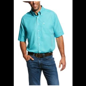Ariat Men's Piper Short Sleeve Viridian Green