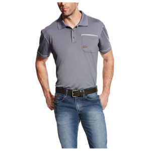 Ariat Men's REBAR Freeze Point Polo