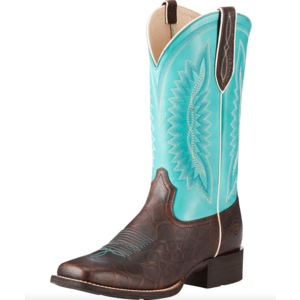 Ariat Quickdraw Legacy Crocodile Print