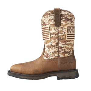 Ariat Workhog Patriot Earth/Sand Camo